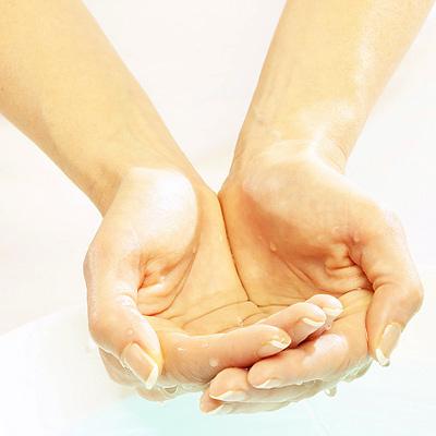 Сухость кожи рук от воды