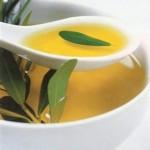 обертывание с растительным маслом в зоне декольте