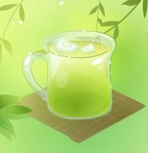домашнее обертывание на основе зеленого чая