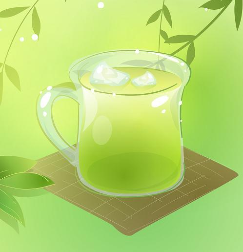 обертывание с зеленым чаем для похудения