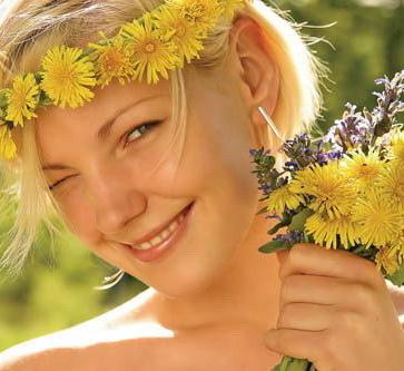 Народные травы для роста волос