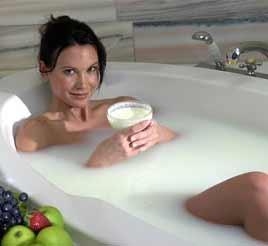 в ванне спермы