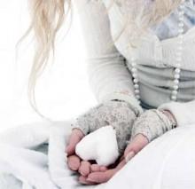 руки зимой