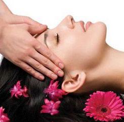 техника массажа головы
