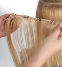 укладка тонких волос