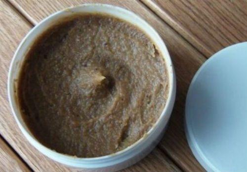 кофейный скраб с мумие
