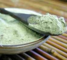 применение зеленой глины