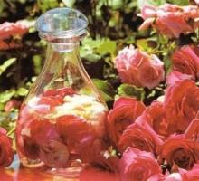 как сделать лосьон из роз