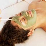 Домашние маски из зеленой глины