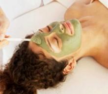 маски из зеленой глины
