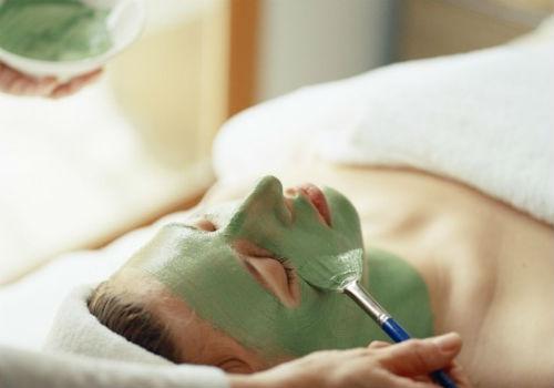 как наносить маску из зеленой глины