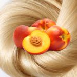 Персиковое масло для волос.