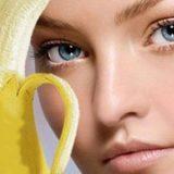 Польза банана для лица