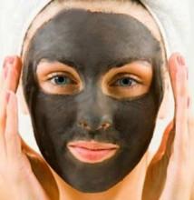 маски с черной глиной