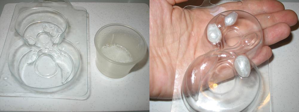 основа с белым перламутром