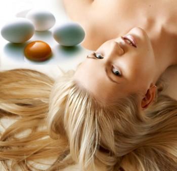 Яичный желток польза для волос
