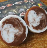 Мраморное мыло «Шоколадный дуэт»