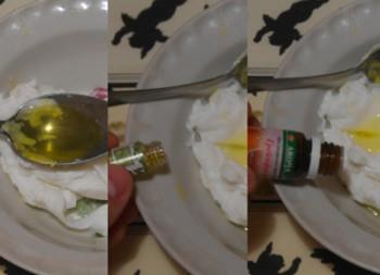 добавляем масло в мыльную основу