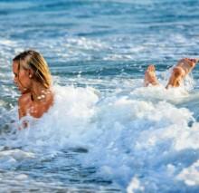 польза морской воды для кожи