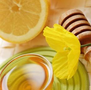 с соком лимона
