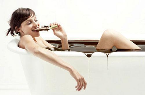 полезна ли шоколадная ванна