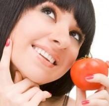помидор для лица