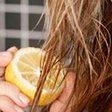 Лимон для ухода за волосами