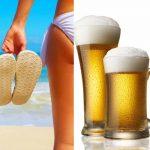 Использование пива для красивого загара