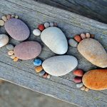Массажная ванночка для ног из камней и морской соли