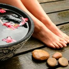 ванночки с солью для ног