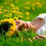 Солнечный цветок одуванчик для волос
