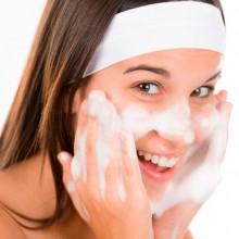 чистка лица пеной для бритья