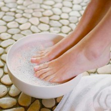 ванночки для ног с перекисью водорода