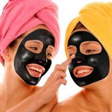 маска от черных точек с активированным углем