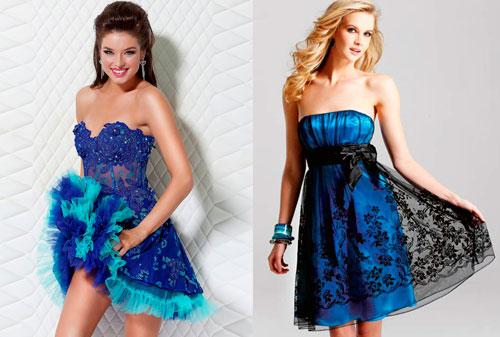 петух любит синие цвета