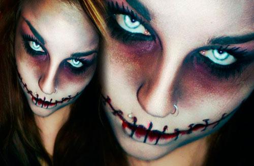 зомби на хэллоуин