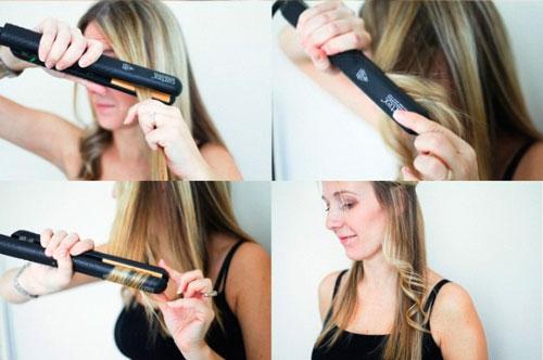 Как сделать красивую укладку на прямые волосы