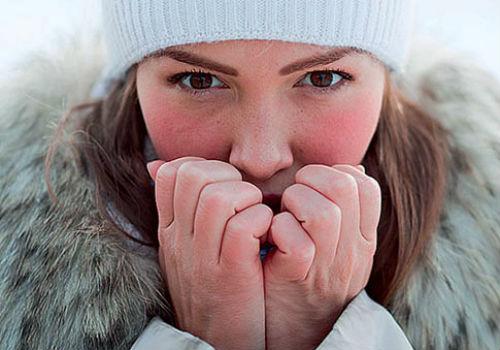 Сильно краснеет лицо на холоде что делать