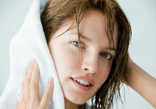 как высушить короткие волосы