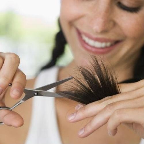 зачем подрезать кончики волос