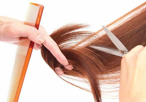 как чатсо подстригать кончики волос