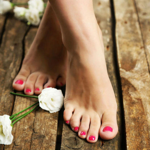 как очистить кожу пяток в домашних условиях