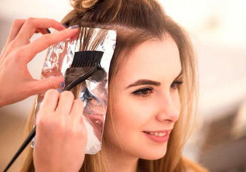 окрашивание волос в июле