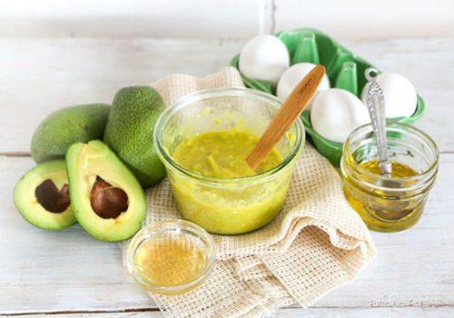 медовая маска с авокадо