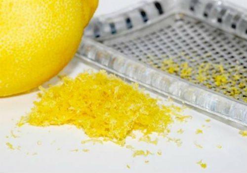 лимонная цедра