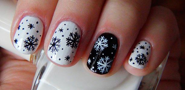Маникюр для зимы