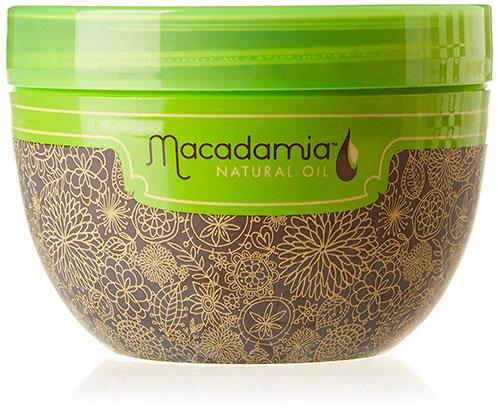 Маска для волос с маслом макадамии