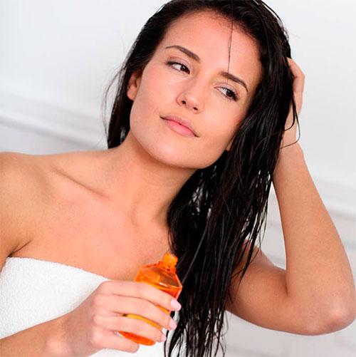 Маска для волос с маслом миндаля