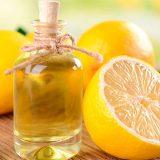 Лимонное масло для волос