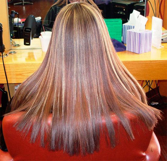 Наращивание волос горячим способом по немецкой технологии